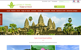 Thiết kế web cho công ty du lịch